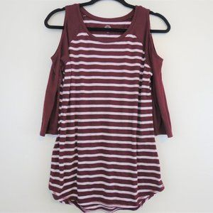 Authentic American Heritage Cold Shoulder, Size L